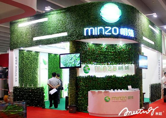 银川展会设计巧思 - 绿植的功能与作用